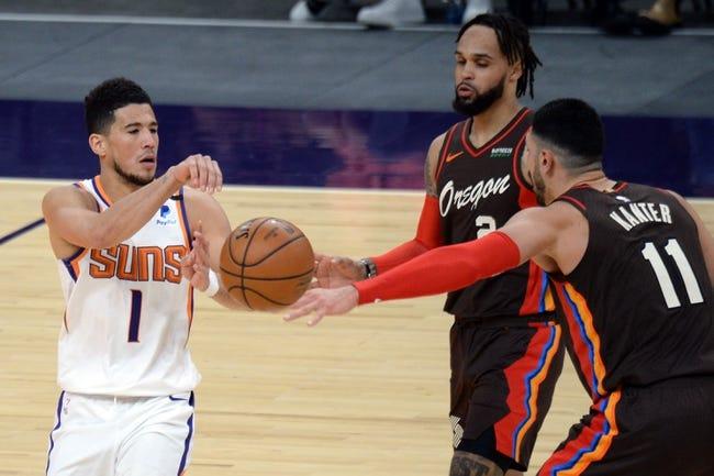 Phoenix Suns at Portland Trail Blazers - 3/11/21 NBA Picks and Prediction