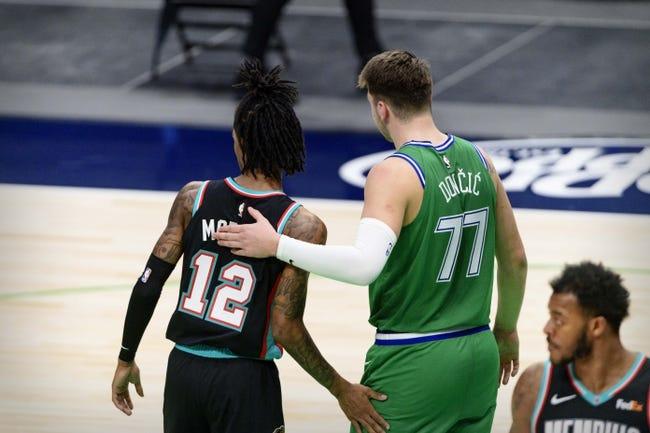 Dallas Mavericks at Memphis Grizzlies - 4/14/21 NBA Picks and Prediction