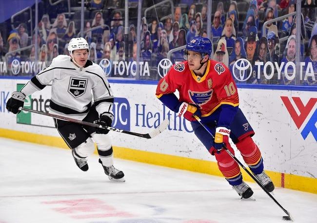 St. Louis Blues vs Los Angeles Kings NHL Picks, Odds, Predictions 2/24/21