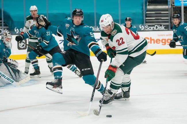 San Jose Sharks vs Minnesota Wild NHL Picks, Odds, Predictions 3/29/21