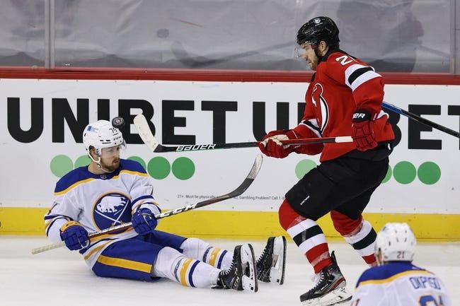 Buffalo Sabres vs New Jersey Devils NHL Picks, Odds, Predictions 2/25/21