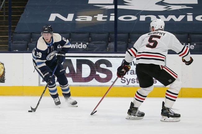 Columbus Blue Jackets vs Chicago Blackhawks NHL Picks, Odds, Predictions 2/25/21