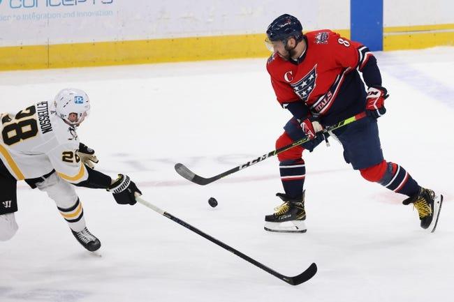 Washington Capitals vs Pittsburgh Penguins NHL Picks, Odds, Predictions 2/25/21