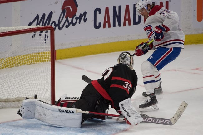 Montreal Canadiens vs Ottawa Senators NHL Picks, Odds, Predictions 3/2/21