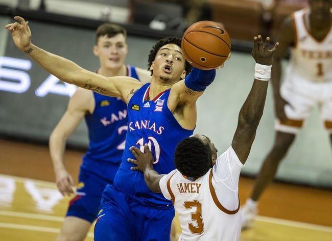 Texas at Kansas: 3/12/21 College Basketball Picks and Prediction