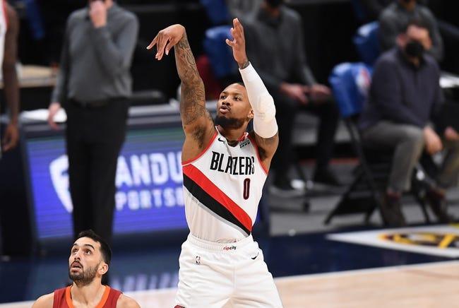 Denver Nuggets at Portland Trail Blazers - 4/21/21 NBA Picks and Prediction