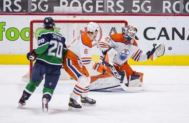 Vancouver Canucks vs Edmonton Oilers NHL Picks, Odds, Predictions 2/25/21