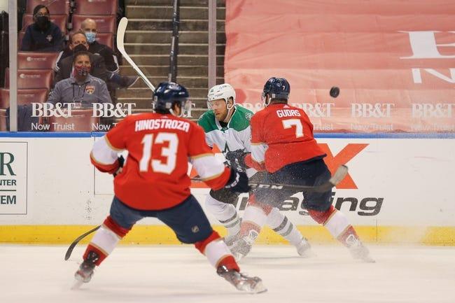 Florida Panthers vs Dallas Stars NHL Picks, Odds, Predictions 2/25/21