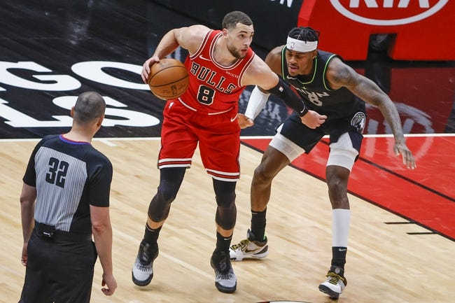 Chicago Bulls at Toronto Raptors - 2/28/21 NBA Picks and Prediction