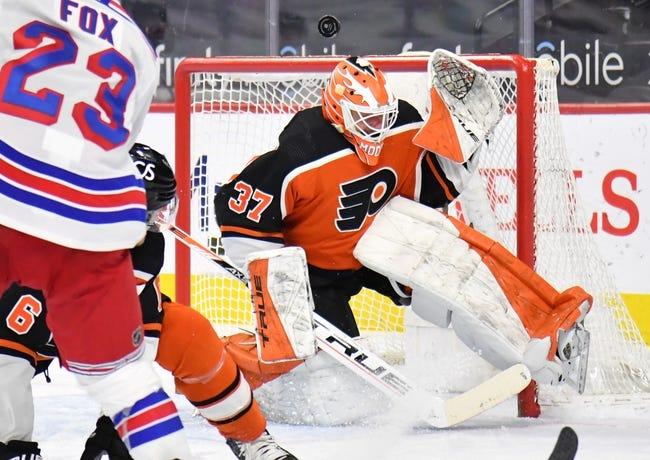 New York Rangers vs Philadelphia Flyers NHL Picks, Odds, Predictions 3/15/21