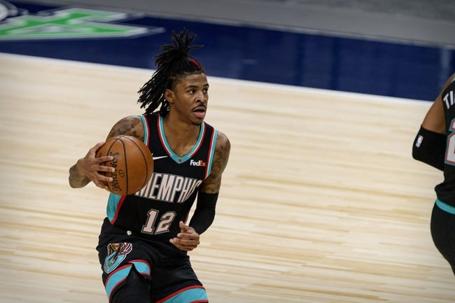 Los Angeles Clippers at Memphis Grizzlies - 2/26/21 NBA Picks and Prediction