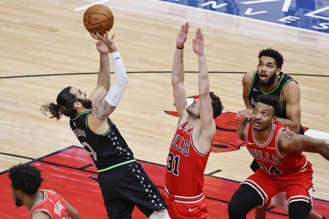 Chicago Bulls at Minnesota Timberwolves - 4/11/21 NBA Picks and Prediction