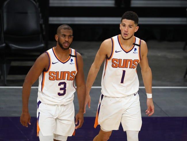 Phoenix Suns at Chicago Bulls - 2/26/21 NBA Picks and Prediction