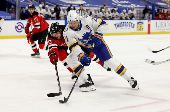 New Jersey Devils vs Buffalo Sabres NHL Picks, Odds, Predictions 3/16/21