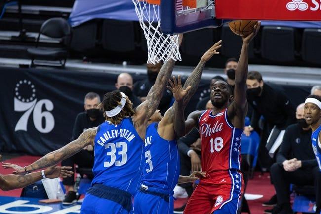 Dallas Mavericks vs Philadelphia 76ers NBA Picks, Odds, Predictions 4/12/21