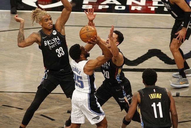 Brooklyn Nets at Orlando Magic - 3/19/21 NBA Picks and Prediction