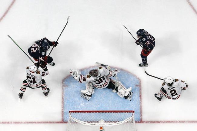 Columbus Blue Jackets vs Chicago Blackhawks NHL Picks, Odds, Predictions 4/10/21