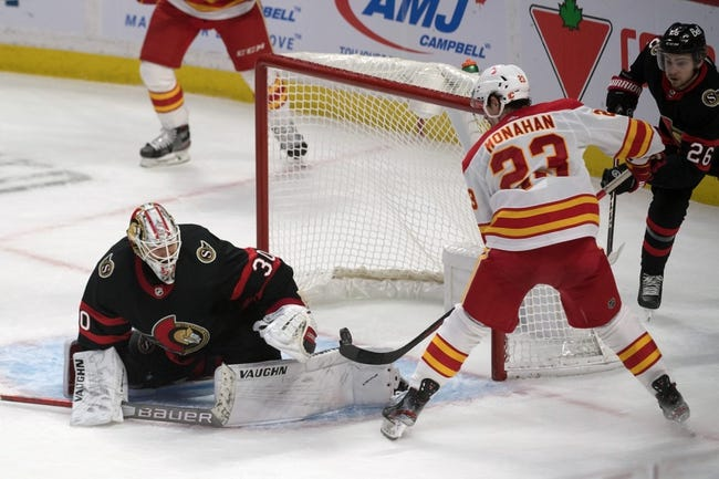 Ottawa Senators vs Calgary Flames NHL Picks, Odds, Predictions 2/27/21