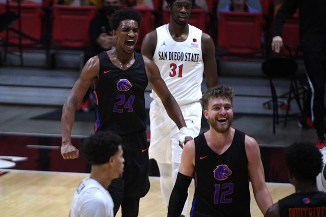 Boise State at San Diego State: 2/27/21 College Basketball Picks and Prediction