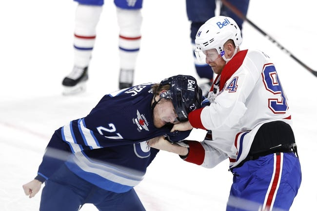 Montreal Canadiens at Winnipeg Jets - 2/27/21 NHL Picks and Prediction