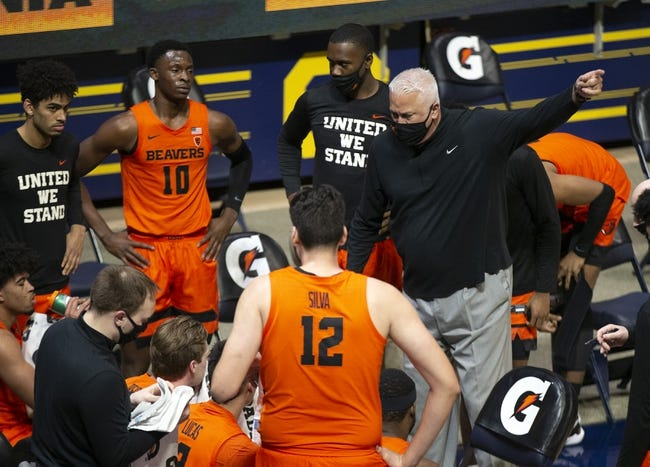 Oregon State at Stanford: 2/27/21 College Basketball Picks and Predictions