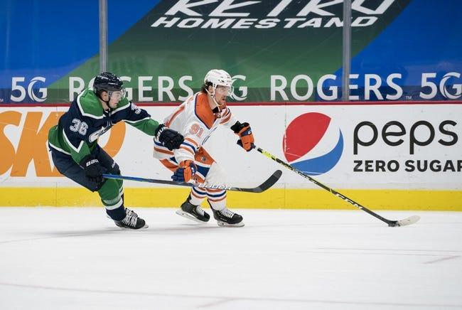 Vancouver Canucks vs Edmonton Oilers NHL Picks, Odds, Predictions 3/13/21