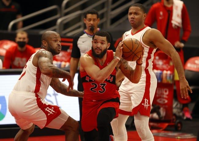 Toronto Raptors at Houston Rockets - 3/22/21 NBA Picks and Prediction