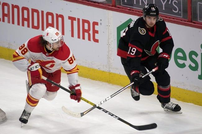 Ottawa Senators vs Calgary Flames NHL Picks, Odds, Predictions 3/1/21
