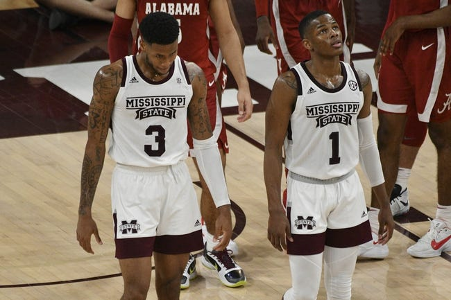 Mississippi State at Alabama: 3/12/21 College Basketball Picks and Predictions