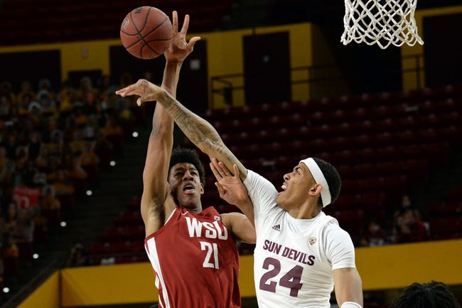 Washington State  at Arizona State: 3/1/21 College Basketball Picks and Prediction