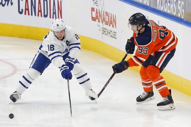 Edmonton Oilers vs Toronto Maple Leafs NHL Picks, Odds, Predictions 3/1/21