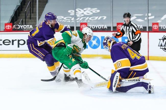 Minnesota Wild at Los Angeles Kings - 4/23/21 NHL Picks and Prediction