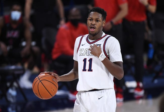 St. Mary's at Gonzaga: 3/8/21 College Basketball Picks and Predictions