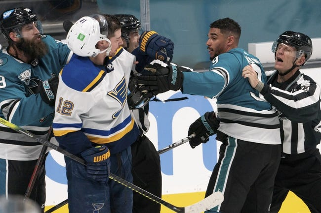San Jose Sharks vs St. Louis Blues NHL Picks, Odds, Predictions 3/8/21