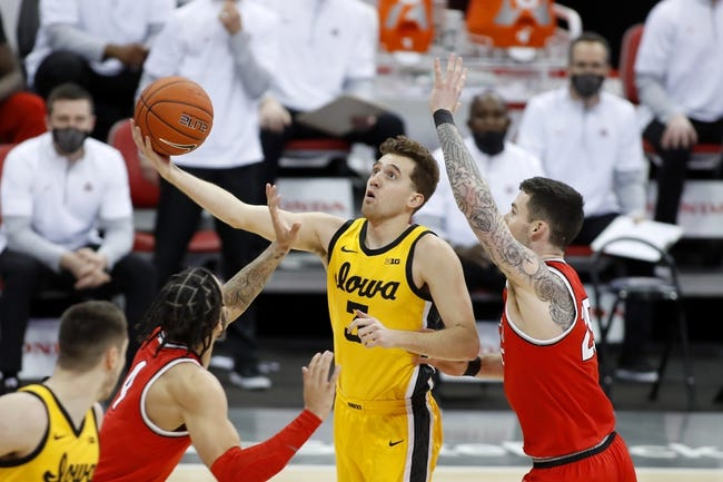 Nebraska at Iowa: 3/4/21 College Basketball Picks and Predictions