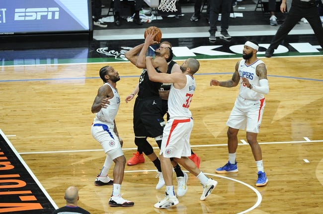Milwaukee Bucks at Los Angeles Clippers - 3/29/21 NBA Picks and Prediction