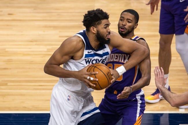 Minnesota Timberwolves at Phoenix Suns - 3/18/21 NBA Picks and Prediction