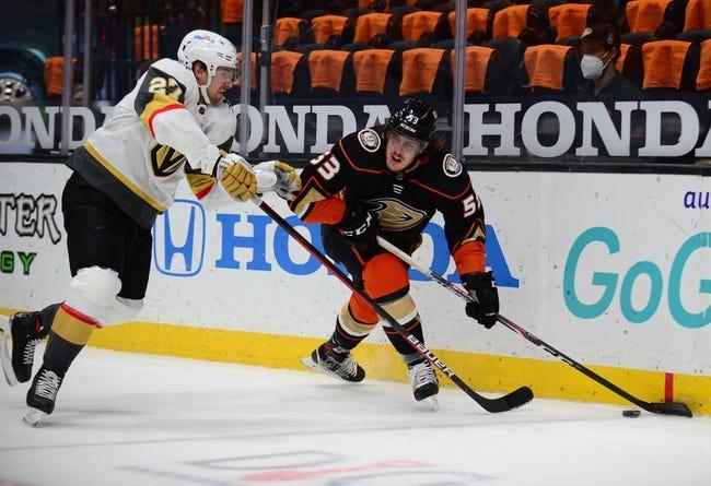 Anaheim Ducks vs Vegas Golden Knights NHL Picks, Odds, Predictions 4/16/21