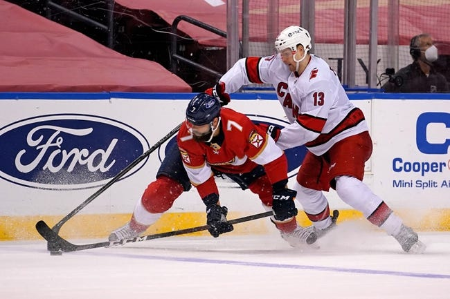 Carolina Hurricanes vs Florida Panthers NHL Picks, Odds, Predictions 3/7/21