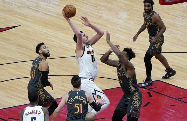 Chicago Bulls at Denver Nuggets - 3/19/21 NBA Picks and Prediction