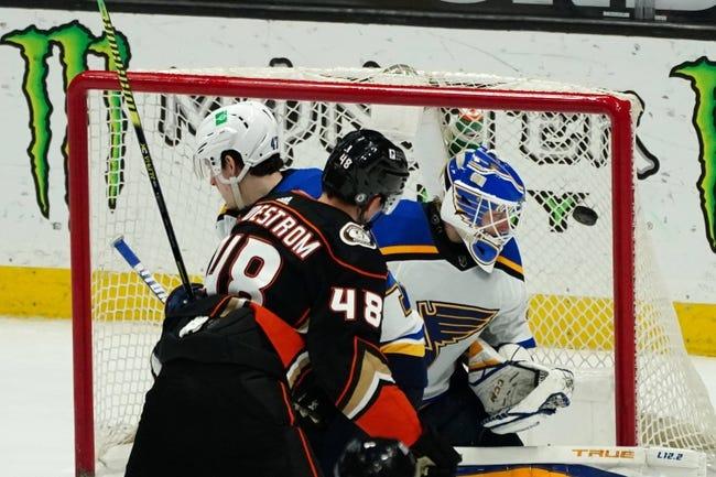 Anaheim Ducks vs St. Louis Blues NHL Picks, Odds, Predictions 3/3/21