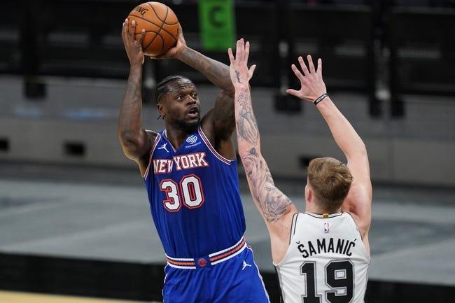 New York Knicks at Oklahoma City Thunder - 3/13/21 NBA Picks and Prediction