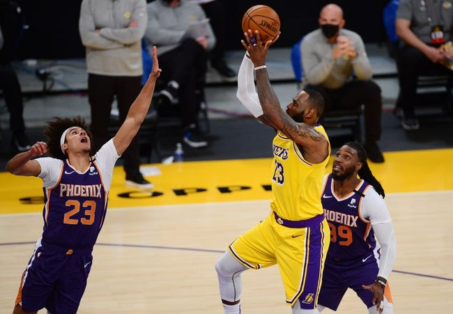 Los Angeles Lakers at Phoenix Suns - 3/21/21 NBA Picks and Prediction
