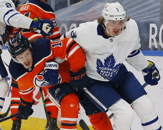 Toronto Maple Leafs vs Edmonton Oilers NHL Picks, Odds, Predictions 3/27/21