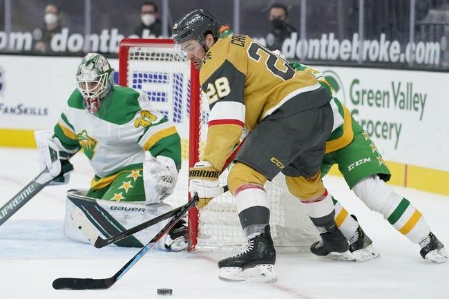 Minnesota Wild at Vegas Golden Knights - 5/28/21 NHL Picks and Prediction