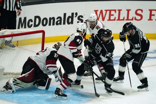 Los Angeles Kings vs Arizona Coyotes NHL Picks, Odds, Predictions 4/5/21
