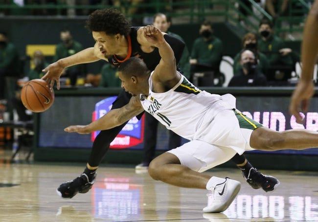Oklahoma State at Baylor 3/12/21 College Basketball Picks and Predictions