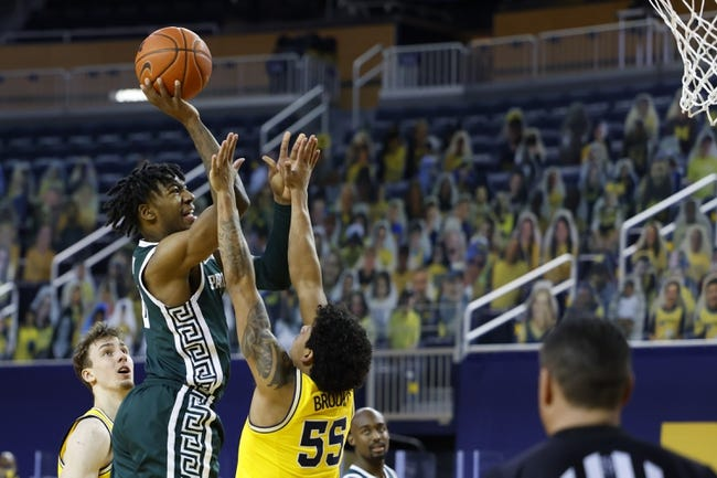 Michigan at Michigan State 3/7/21 College Basketball Picks and Predictions