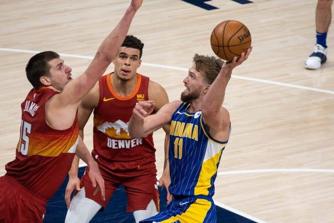 Indiana Pacers at Denver Nuggets - 3/15/21 NBA Picks and Prediction