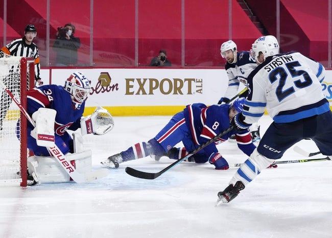 Montreal Canadiens vs Winnipeg Jets NHL Picks, Odds, Predictions 3/6/21